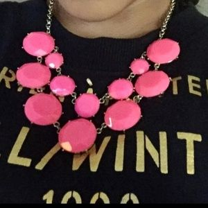 Kate spade pink bauble necklace